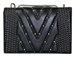 MCM Leather Diamond Disco Shoulder Bag