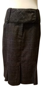 Copper Key Skirt Gray plaid