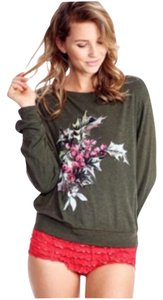 Wildfox Christmas Holidays Bbj Baggy Sweater