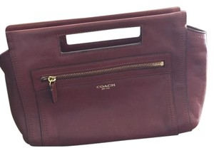 Coach Chestnut Brown Clutch