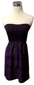 Roxy short dress Purple on Tradesy