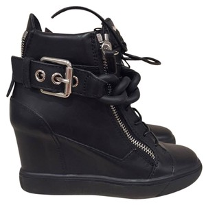 Giuseppe Zanotti Chain Sneaker Trainer Lace black Wedges