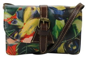 Patricia Nash Designs Floral Leather Cross Body Bag