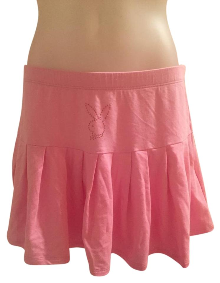 0cefa6e9b2 Playboy Pink New W/ Tags. Pleated Skirt Size 4 (S, 27) - Tradesy