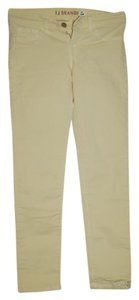 J Brand Holiday Skinny Pants yellow