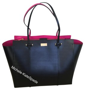 Kate Spade Tote in BLK/ SWTHPK