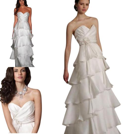 Preload https://img-static.tradesy.com/item/20072853/jim-hjelm-light-ivory-white-silk-satin-faced-organza-8059-strapless-aline-layered-skirt-sweetheart-f-0-20-540-540.jpg