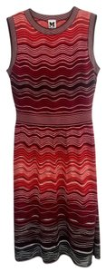 Missoni M Red Orange Dress