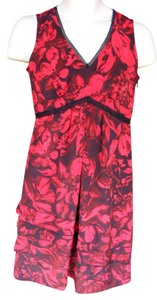 Simply Vera Vera Wang short dress Red & Black Washable Night Out Sleeveless Side Zipper on Tradesy