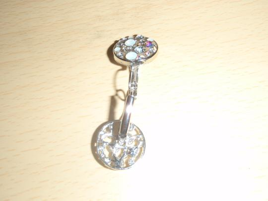 Unknown Custom earring with Crystal at the circle. Image 4