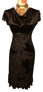 Rampage Holiday Party Velvet Evening Dress