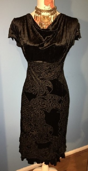 Rampage Holiday Party Velvet Evening Dress Image 2