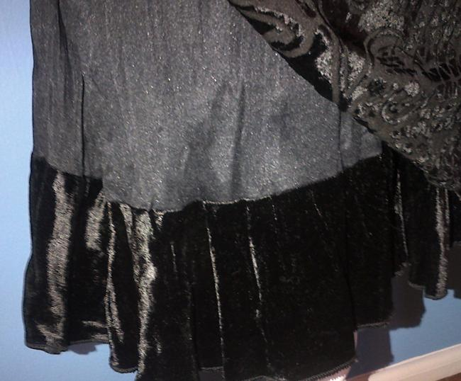Rampage Holiday Party Velvet Evening Dress Image 3