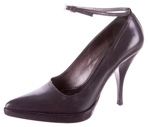 Prada Classic Leather Black Pumps