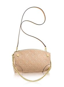 Louis Vuitton Crossbody Wristlet Nude Dune Clutch