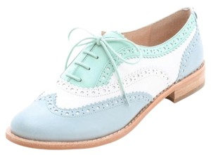 Sam Edelman Mint and white Flats