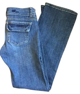 Guess Denim Flap Pocket Boot Cut Jeans