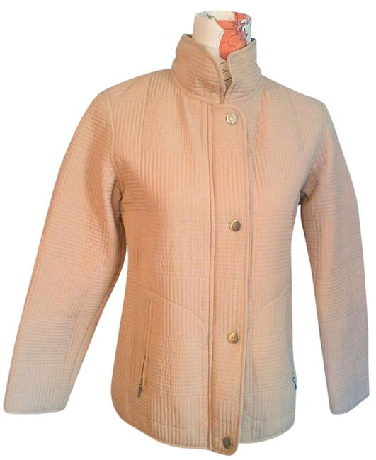 Gallery Quilted Fall Beige Jacket Image 1