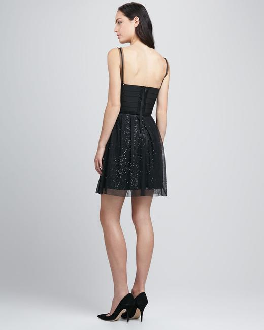 French Connection Holiday Party Bandage Sequin Dress Image 3