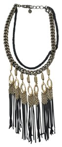 Stella & Dot Lillith Fringe Necklace