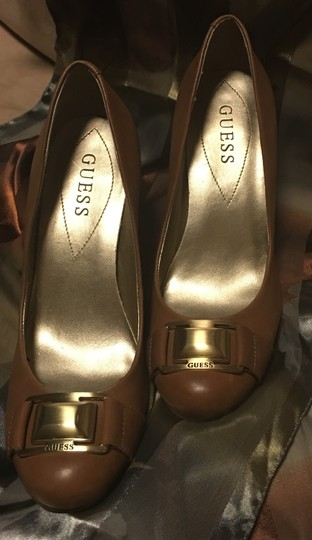 Guess Tan Wedges Image 3