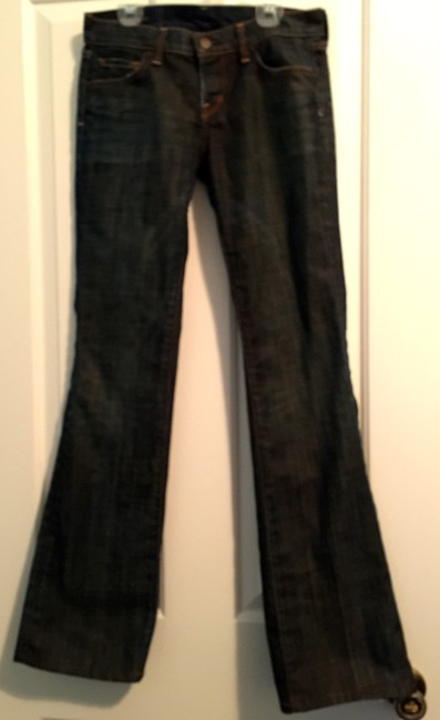 Citizens of Humanity Coh Kelly Sleek Dressy Classic Boot Cut Jeans-Dark Rinse Image 3