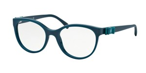 Chanel NEW Chanel 3283Q Turquoise Blue Bow Round Eyeglasses Frames