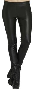 BCBGeneration Faux Leather Skinny Skinny Pants Black