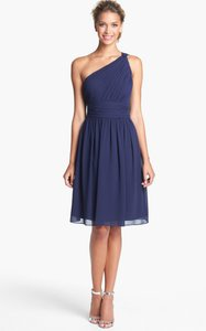 Donna Morgan Navy Rhea Dress