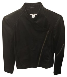 Helmut Lang Leather Designer Lambskin black Leather Jacket