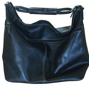 Michael Rome Leather Handbag Weekender Shoulder Bag