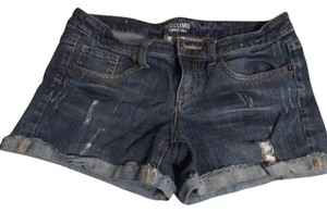 Mossimo Supply Co. Cuffed Shorts Blue