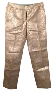 Tory Burch Trouser Pants Mint and gold
