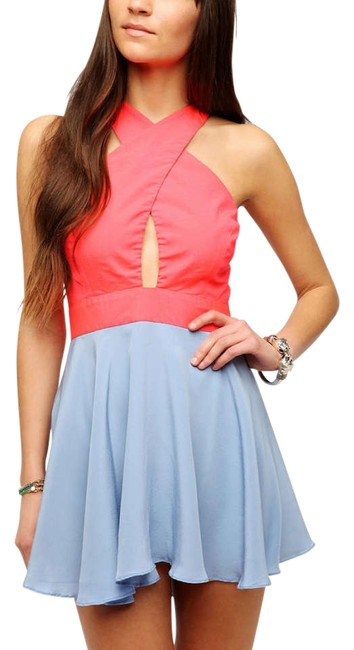 Preload https://item4.tradesy.com/images/naven-pink-and-blue-mini-night-out-dress-size-4-s-200738-0-0.jpg?width=400&height=650