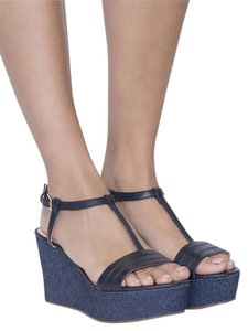 Kate Spade Tallin Sandal denim Wedges
