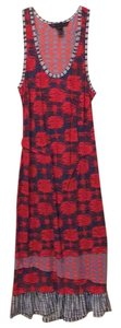 Red, white and blue print Maxi Dress by Marc by Marc Jacobs