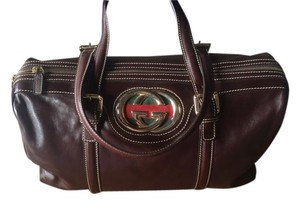 Gucci Satchel in Chocolate brown