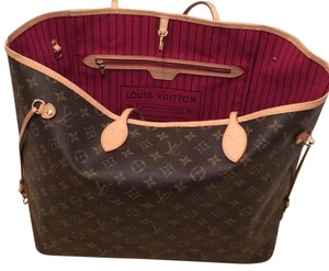 Louis Vuitton Neverfull GM pivione Tote
