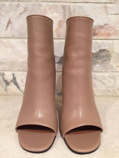 Givenchy Curved Stiletto Leather Heel nude Boots Image 3