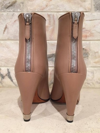 Givenchy Curved Stiletto Leather Heel nude Boots Image 6