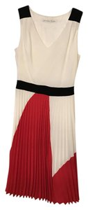 Trina Turk Colorblock Pleated Dress