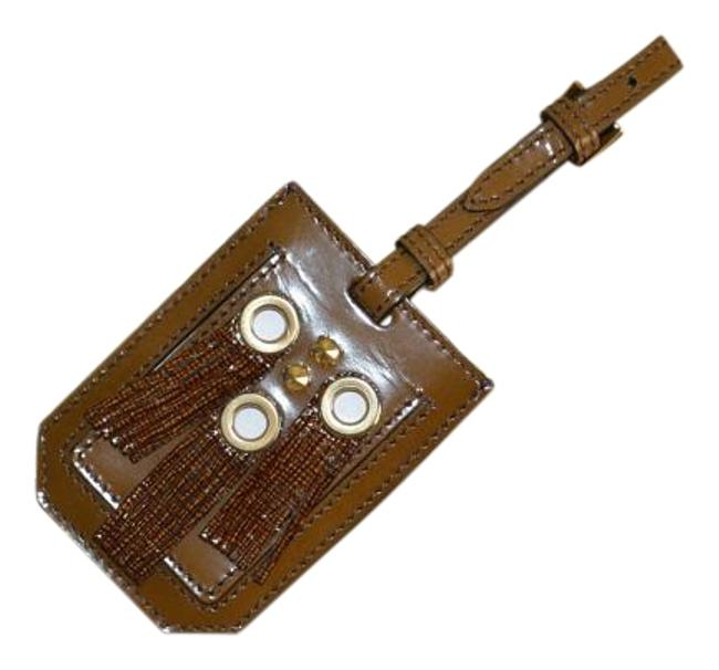 Item - Prorsum Eyelet Fringe Leather Luggage Tag