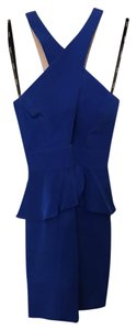 Naven Peplum Silk Dress