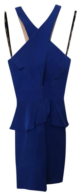 Naven Peplum Silk Dress Image 1