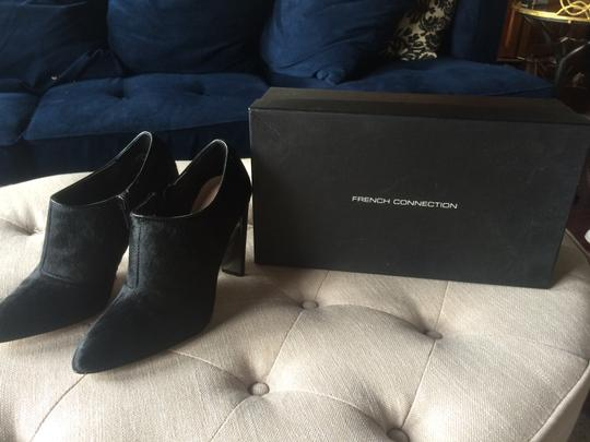 French Connection Black pony hair Boots Image 1