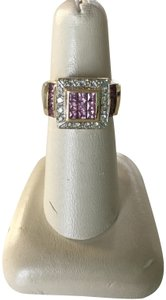 Barmakian Jewelers SPECTACULAR RING IN 14K YELLOW GOLD, DIAMONDS AND PINK SAPPHIRES