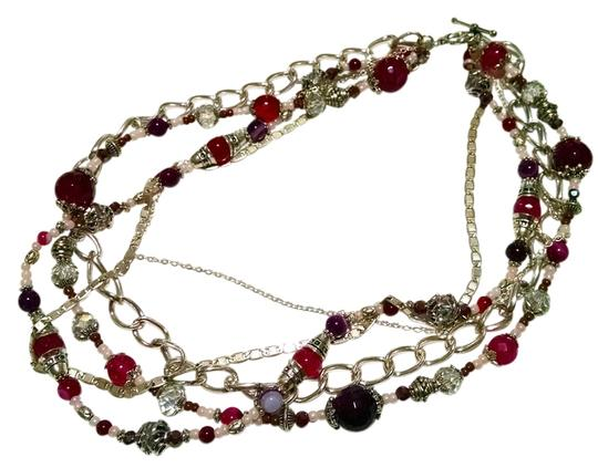 Preload https://item5.tradesy.com/images/other-necklace-multi-chain-beaded-agate-gemstones-15-inch-j699-2007409-0-0.jpg?width=440&height=440