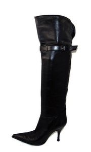 Sergio Rossi Over The Knee Black Boots