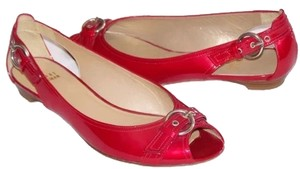 Stuart Weitzman ON SALE! Red Flats
