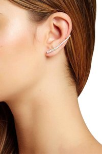 stella & ruby Stella + Ruby Crystal Ear Cuffs